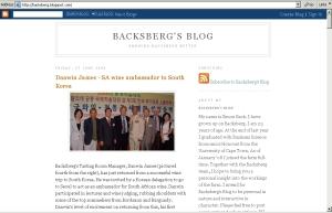 BacksbergBlog