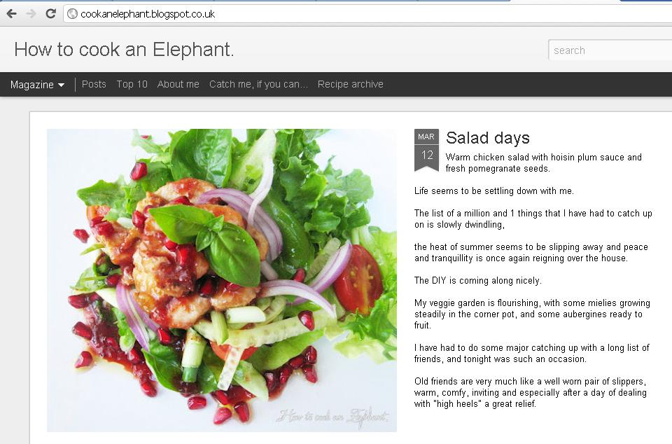 Spotlight on how to cook an elephant south african food wine howtocookanelephant forumfinder Image collections